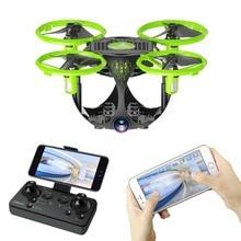 Drone WIFI plegable esférica aéreo UAV fotografía Mini cuatro ejes modelos de avión, juguetes UFO Juguetes