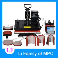 8 In 1 Combo Heat Transfer Machine,Sublimation/Heat Press Machine,Printer For Mug/Cap/T-Shirt /Phone Case Etc