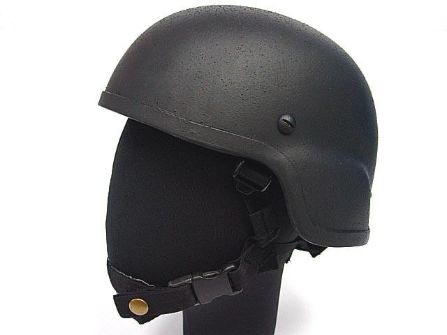 SWAT MICH TC-2000 Kevlar ACH USGI Airsoft Helmet BK