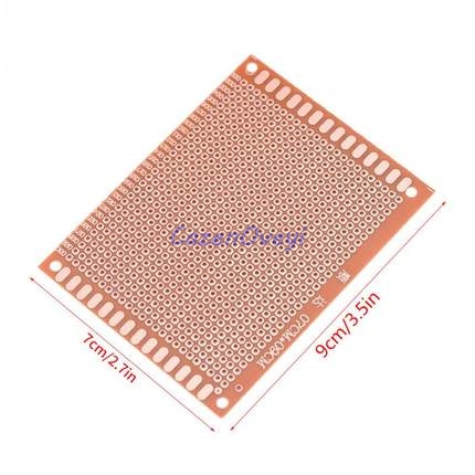 5pcs/lot 7x9cm 7*9 DIY Prototype Paper PCB Universal Experiment Matrix Circuit Board In Stock