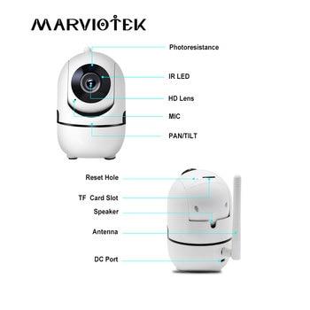 1080P Full HD Wireless IP Camera Wifi IP CCTV Camera Wifi Mini Network Video Surveillance Auto Tracking Camera IR Night Vision 1