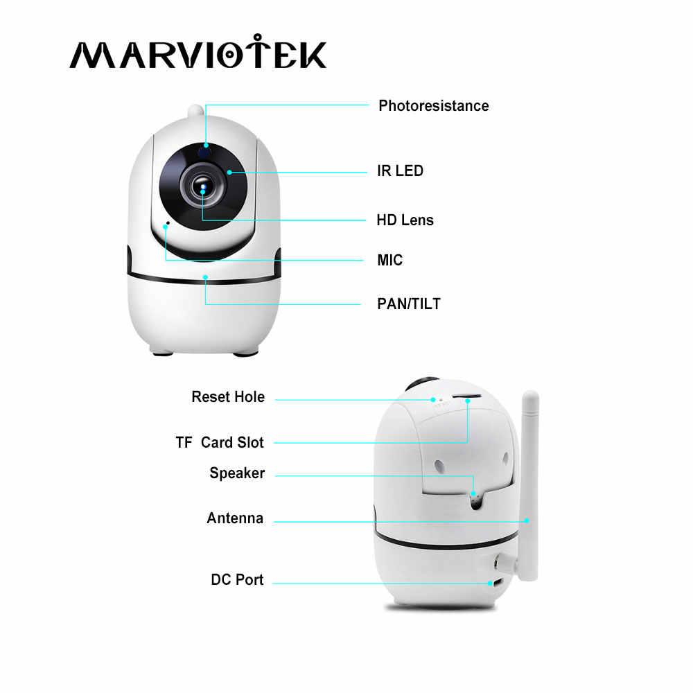 1080 P Full HD Беспроводной IP Камера Wi-Fi IP CCTV Камера Wifi мини сети видеонаблюдения камера с функцией автоматического слежения ИК Ночное видение