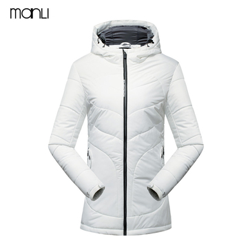MANLI New Warm Hiking Winter Jackets Long Sleeve Women Winter Jacket Thick Cotton Coat Outwear Slim Warm Down cotton clothing