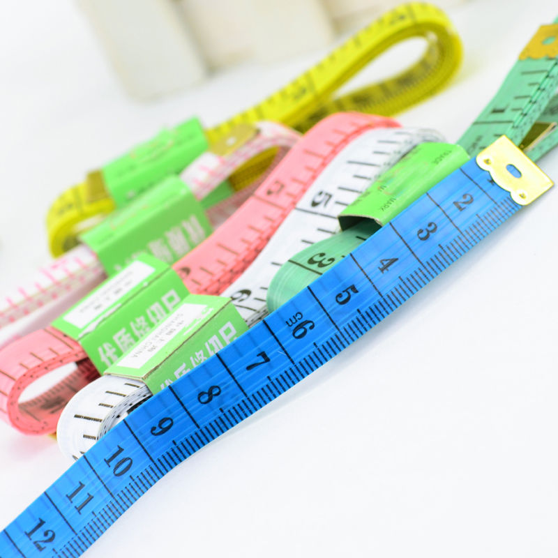 "Buy 2PCS Useful Measuring Ruler Sewing Cloth Tailor Tape Measure Soft Flat 1.5M 60"" for only 0.24 USD"