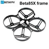 Cadre BETAFPV Beta85X 85mm Micro cadre Whoop pour moteur 1105-6000KV 4 S 450 mah batterie F4 2 S sans balai FC cadre noir blanc