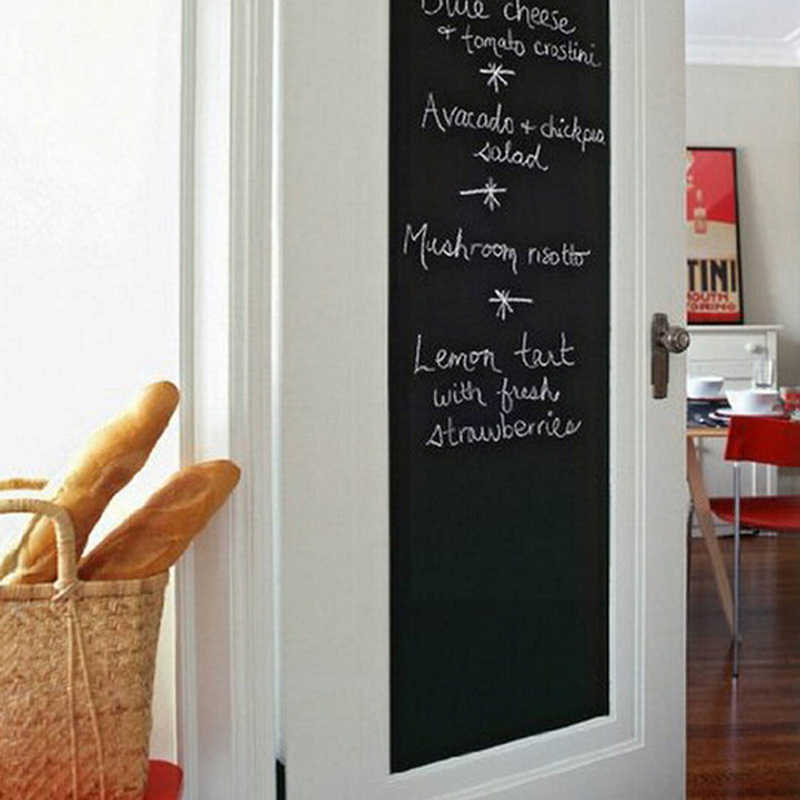DIY Chalk Board Blackboard Stickers Removable  Draw Decor Art Chalkboard Wall Sticker For Kids Rooms