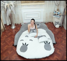 170x220cm USA Totoro Design Bed Mattress Large Size With Lovely Animal Adult Bed Sofa