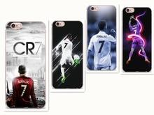 IMIDO Cr7 cristiano ronaldo  football soft PC Protective Back Ski TPU case cover for iPhone 5 5S SE 7 7Plus 6 6SPlus 8 8 Plus стоимость