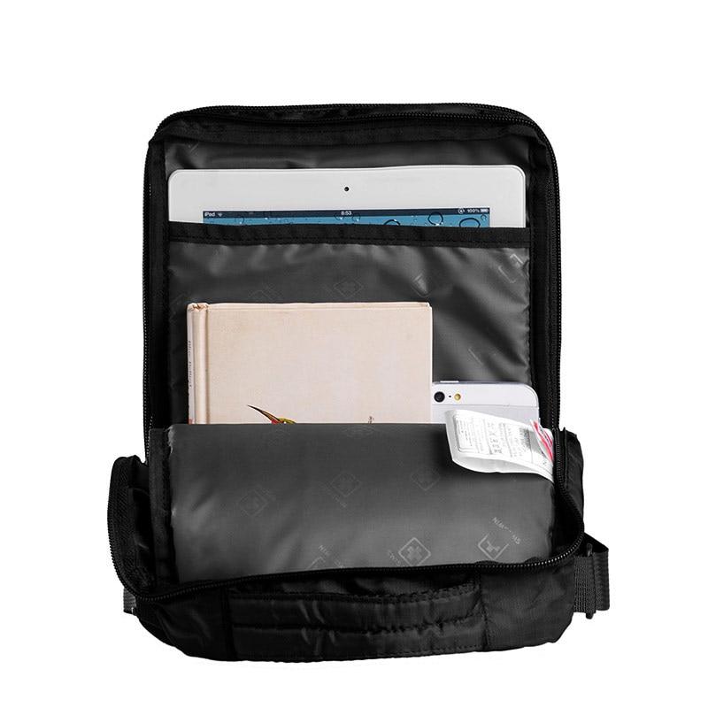 Swisswin сумка маленькая сумка для таблеток и документы мужская черная  сумка 11 inch кроссбоди сумки для студентов купить на AliExpress a717bfcc012