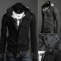 New Coats Men Outwear Mens Special Hoodie Jacket Coat Clothes Cardigan Style Jacket Supreme Box Logo