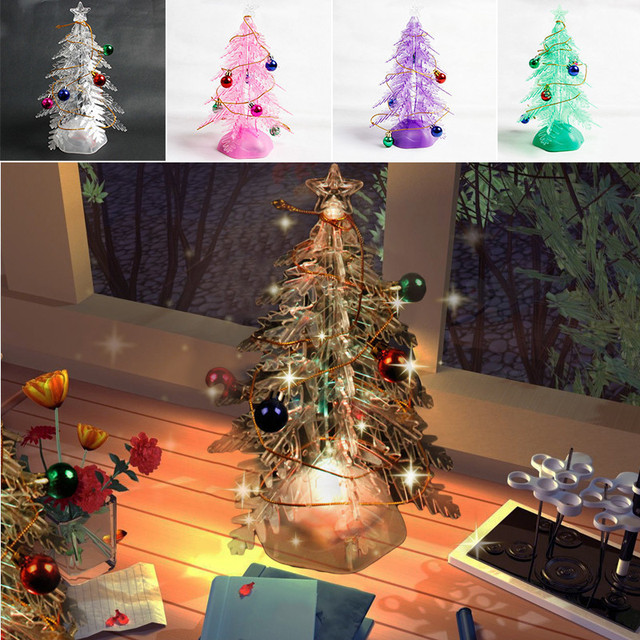 with music glowing christmas tree diy assemble pvc christmas trees xmas decorative pendants nice christmas gift
