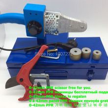 Горячая Распродажа сварочный аппарат PPR с контролем температуры, сварочный аппарат для пластика переменного тока 220 в 600 Вт 20-32 мм для сварки пластиковых труб