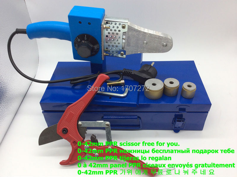 Hot Sale Temperature Controled PPR  Welding Machine, Plastic Welder AC 220V 600W 20-32mm  For Weld Plastic Pipes