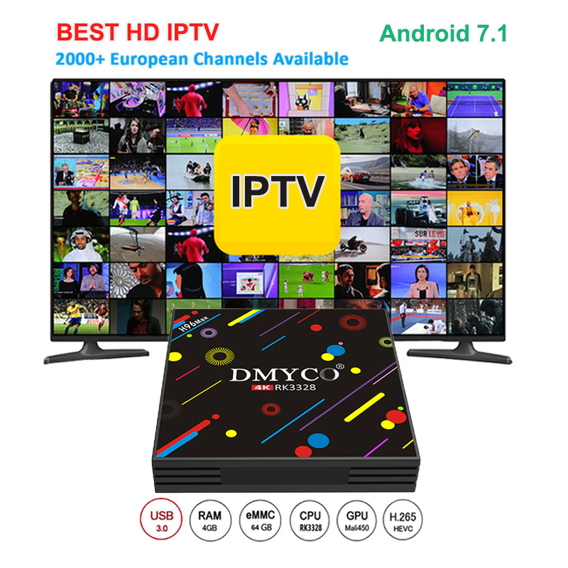 H96 MAX H3 Android 7.1 TV Box RK3328 4GB RAM 64GB ROM Quad Core 64bit Cortex-A53 HDR10 WiFi USB 3.0 Bluetooth 4K Smart TV BOX цена 2017
