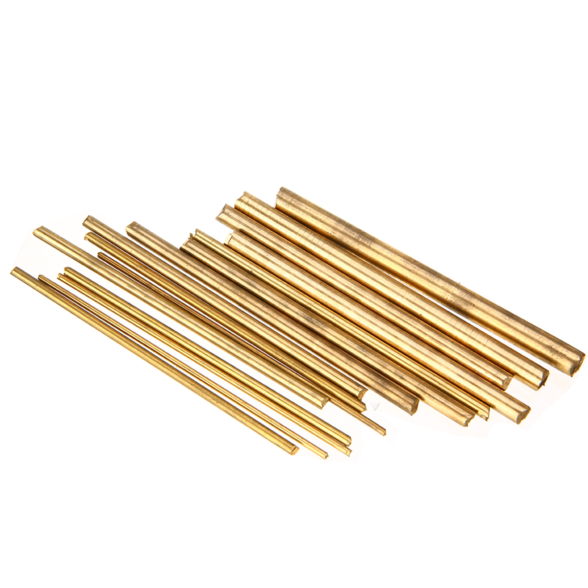 15pcs Durable Brass Rod Bar Watchmaker Lathe DIY Watch Tool Craft Making Parts 100mm Length 2/3/4/5/6/7/8mm Diameter Mayitr thumb brass maple blackwood convex bottom planes violin making woodworking tool luthiertools craft plane