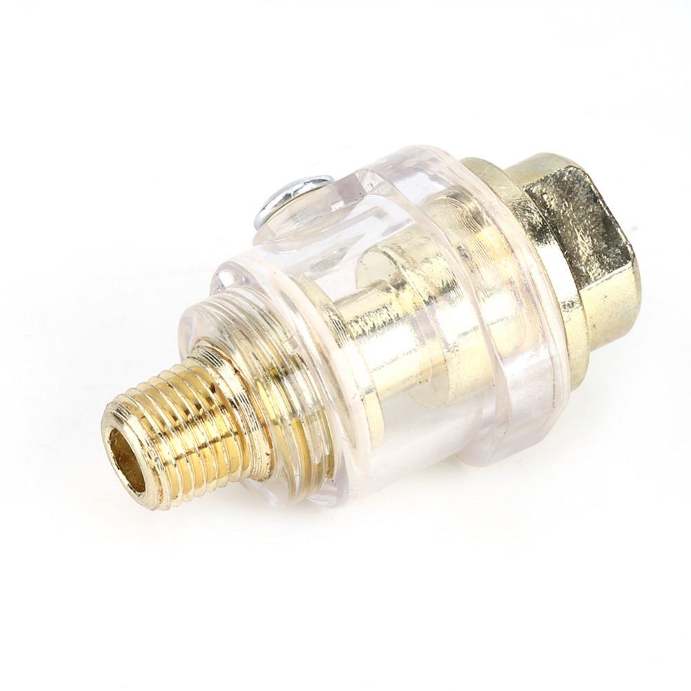 "1//4/"" BSP Mini In-Line Oiler Lubricator For Air Compressor Pipe /& Pneumatic Tool"