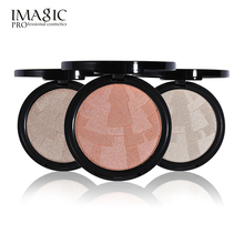 4 Color Highlighter Powder Imagic Brand Brightening Face Foundation Matte Color Palette Highlight Contour Bronzer Make up Set