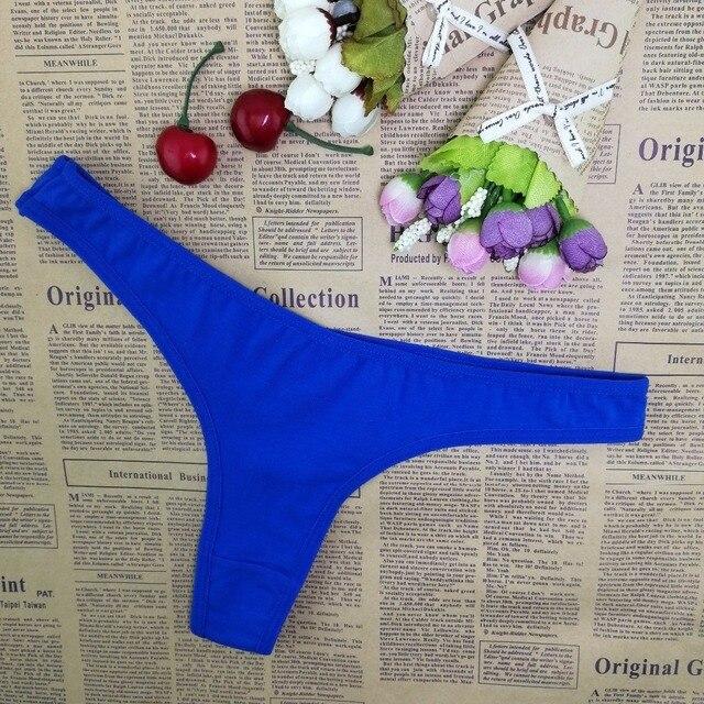 Nouveau multicolore Sexy confortable confortable dentelle slips tongs sous-vêtements Lingerie pour les femmes 1 pièces ah852