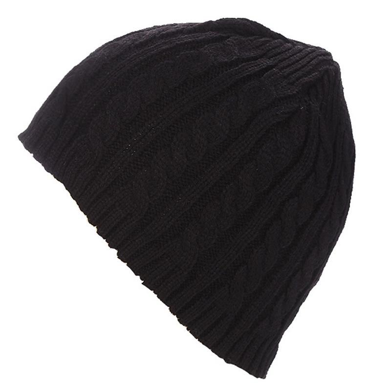 Autumn Winter Warm Knitted Hat Cap   Skullies     Beanies   For Men Women Female Male Boy Girl Fashion Knit Hats Caps Ski Bonnet Hat Cap