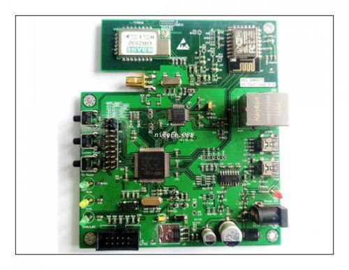 US $55 88 |ZigBee WiFi intelligent gateway development board  STM32F107+DDP83848 Ethernet development board-in Network Cards from  Computer & Office on