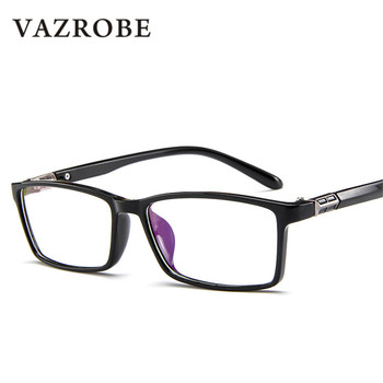 Vazrobe Small Narrow Glasses Frame Men Women Prescription Spectacles for Man Myopia Diopter Optical Anti Blue Light Female 1.56
