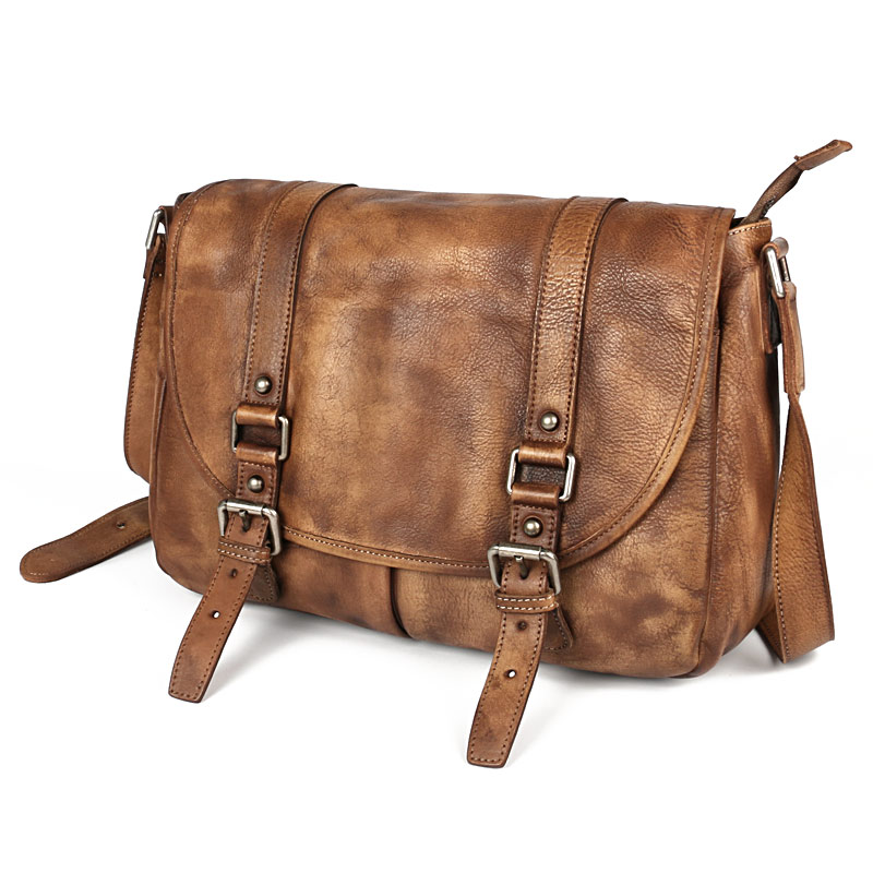 Ruil модные туфли в стиле ретро из натуральной кожи Crossbody сумки старинные малый мягкая сумка Повседневное мягкая ручка Кроссбоди мешок челове