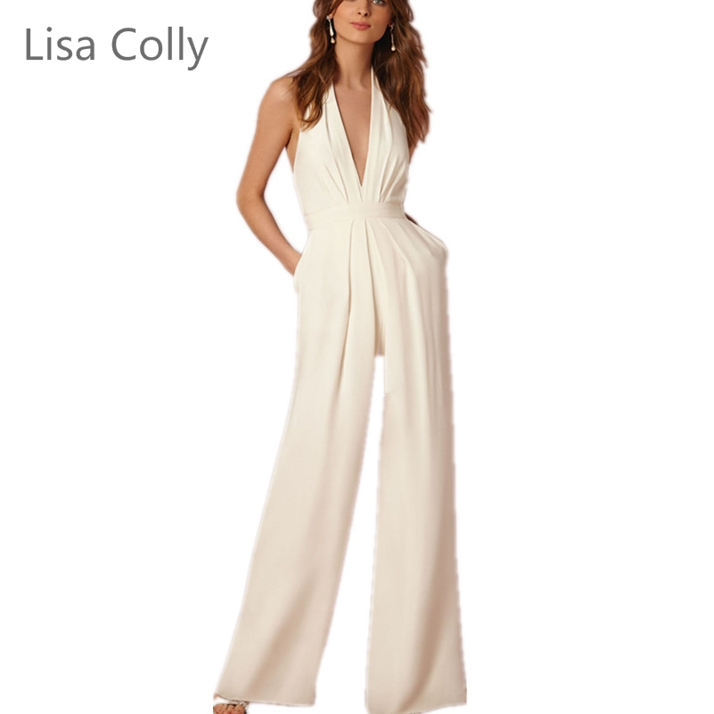 Lisa Colly New fashion women Summer chiffon high waist Wide leg Pants Women casual trousers Women White Black Red Long pants