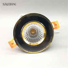 DHL Free shipping  Dimmable Led COB Ceiling led downlight 10w 15w  rotating 110/220V surface mounted Indoor Lighting