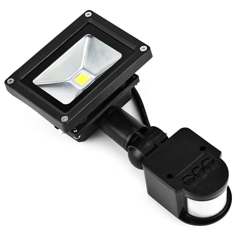 LED Flood Light PIR Motion Sensor Spot Lamp Spotlight 220V Waterproof Safelight