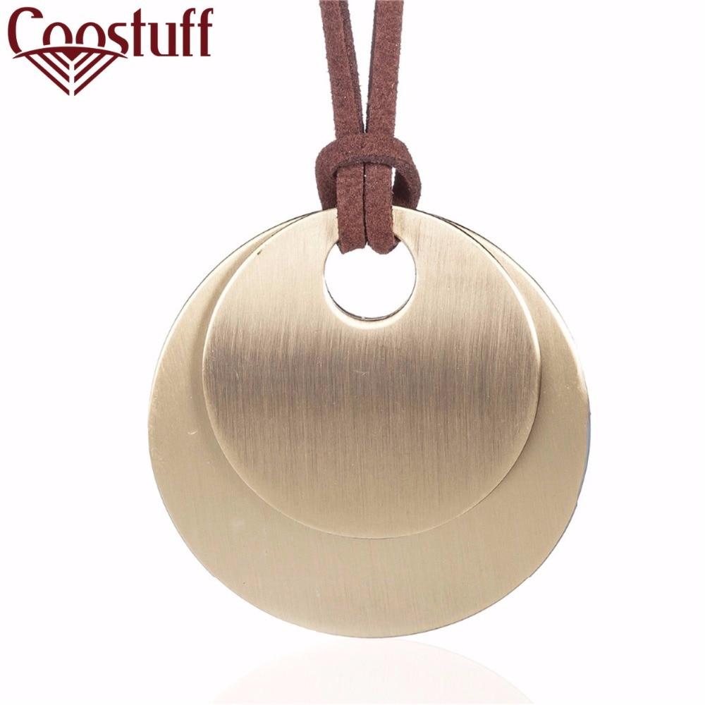 2017 Women Jewelry statement necklace Women Bronze pendant fashion vintage choke