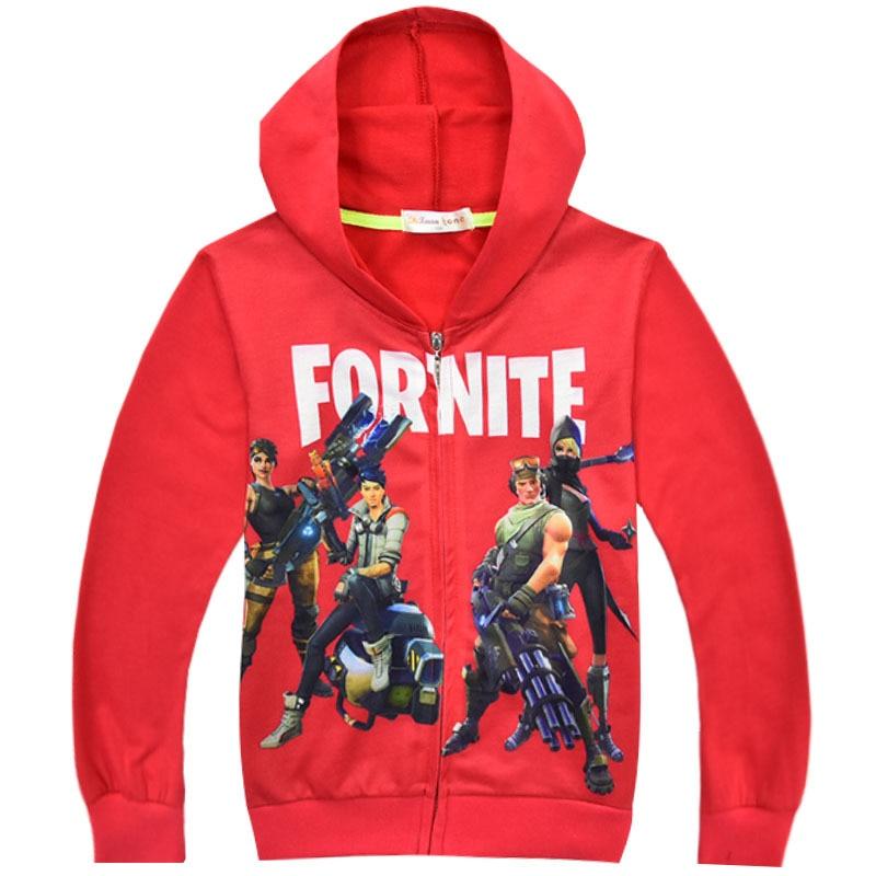 2018 Kids T Shirts 3D Printed Hoodies Big Boy Sweatshirt Clothes Summer Autumn Boys Girls Tfortnite Pattern Long Sleeve T-Shirts