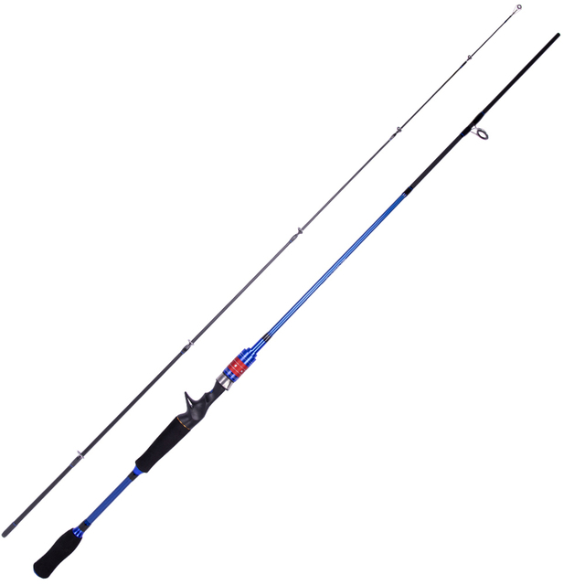 Carbon Spinning Fishing Rod M/MH Power wt:10-30g Casting Rod Carbon rod Fishing rod Fishing Tackle 1.8m/2.1m