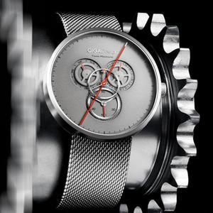 Image 5 - מקורי Youpin CIGA שעון זמן מכונה שלושה הילוך עיצוב פשוט קוורץ שעון אחד מצביע עיצוב מתכוונן תאריך שעונים H24