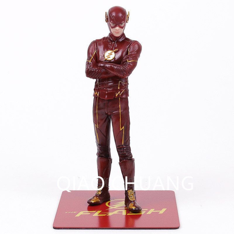 Justice League Superhero CSI Police Detective Barry Allen The Flash Grant Gustin 1/10 Scale Action Figure Doll G4