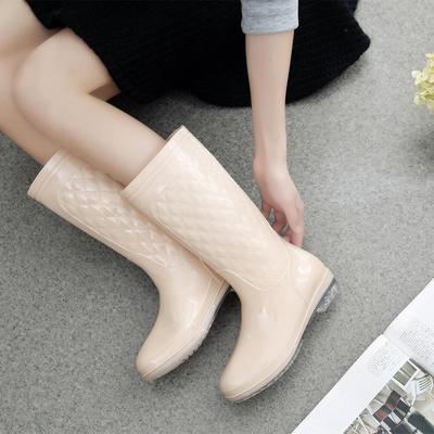 NEW Women Non-slip PVC Rain Boots Waterproof Water Shoes Woman Wellies Mid-Calf Rainboots Winter Warm Inserts Jelly Footwear free drop shipping new vogue adult women fashion rainboots pvc rain shoes buckle water rubber boots wellies bargin price black