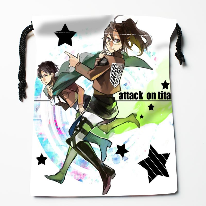 Custom Attack On Titan Bags Custom Printed Gift Bags More Size 27x35cm Compression Type Bags