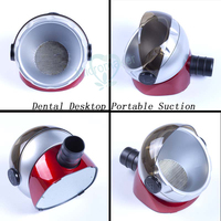 For Cleaning Dust Polishing Dental Desktop Suction Base Portable Vacuum Cleaner Collector
