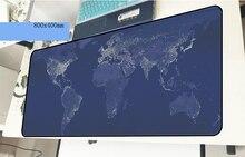 Карта мира геймерский коврик для мыши рождественские подарки 800x400x2 мм игровой коврик для мыши xl аксессуары для ноутбука ПК padmouse эргономичный коврик