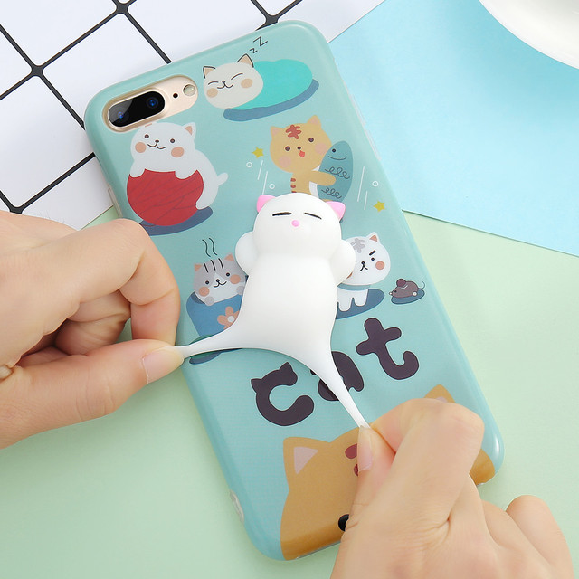 3D Cute Cat Phone Cases For iPhone 5/5s, 6/6s/6 Plus, 7/7 Plus/ 8/8 Plus
