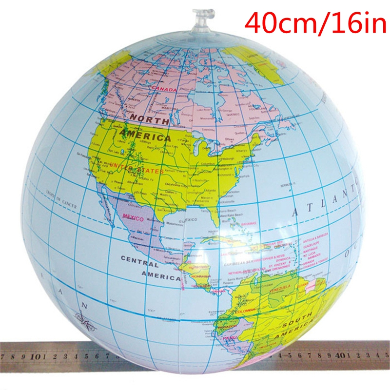 40CM-Inflatable-World-Globe-Teach-Education-Toy-Kids-Learning-Geography-World-Map-Balloon-Beach-Ball-Outdoor-Toy-1