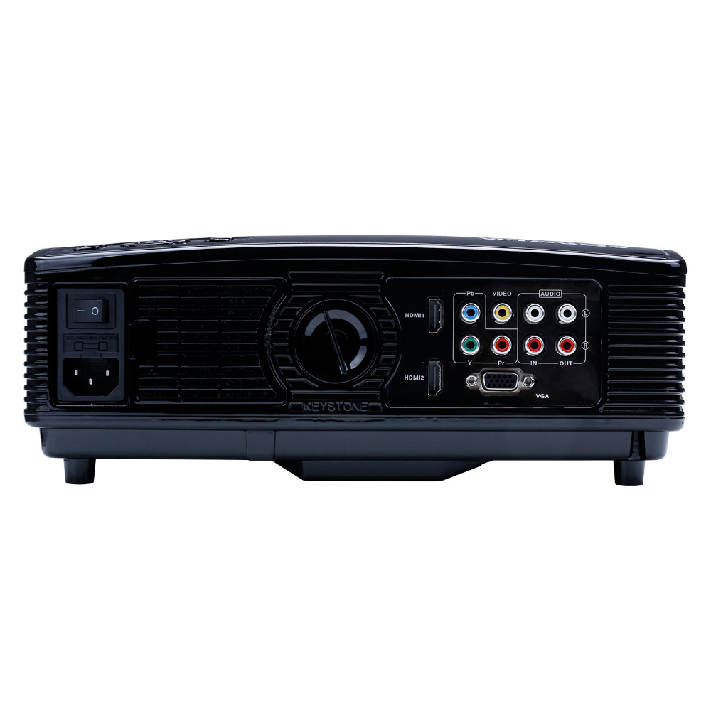 Wimius T4 5 8inch Lcd Projector 3200 Lumens Support 1920x1080 Full