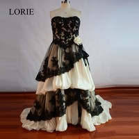 Cheap Simple Strapless Mermaid Wedding Dresses 2017 Vestidos De Novia Sexy Bride Dress Tulle Ruffles Ivory