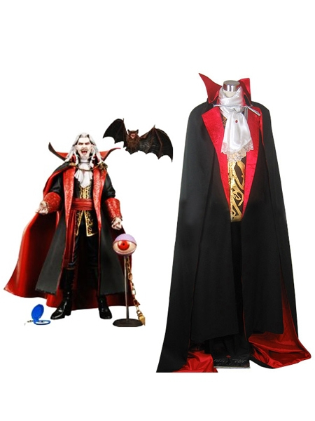 Free shipping Castlevania Vampire Dracula Halloween Cosplay Costume