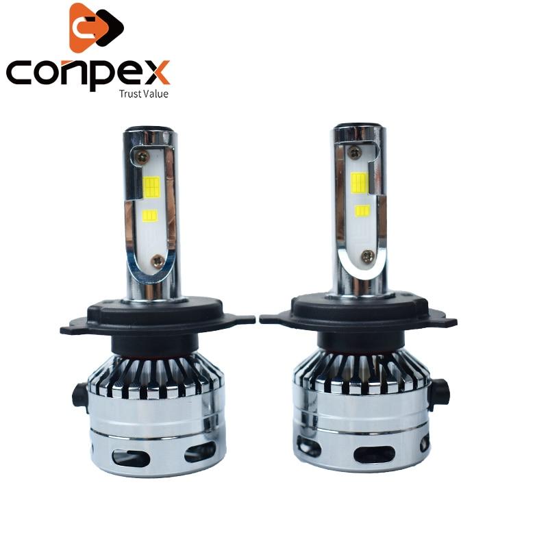 2 pièces voiture phares ampoules LED 6500 K 12 V 2.5A H1 LED haute température résistant puce deux faces lampe à LED perles signal lampe lumières