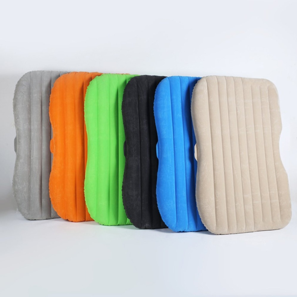 Large Size Durable Car Back Seat Cover Car Air Mattress Travel Bed Moisture-proof Inflatable Mattress Air Bed for Car Interior durable thicken pvc car travel inflatable bed automotive air mattress camping mat with air pump