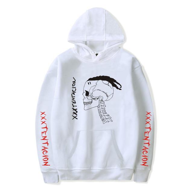 Fahsion Hip Hop xxxtentacion hoodies women casual letter print Revenge hooded men pullover sweatshirts