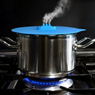 1 Piece Novel Silicone Steam Lid Steam Ship Steamer Lid Nonelty Silicone Pot Lid Kitchen Tools