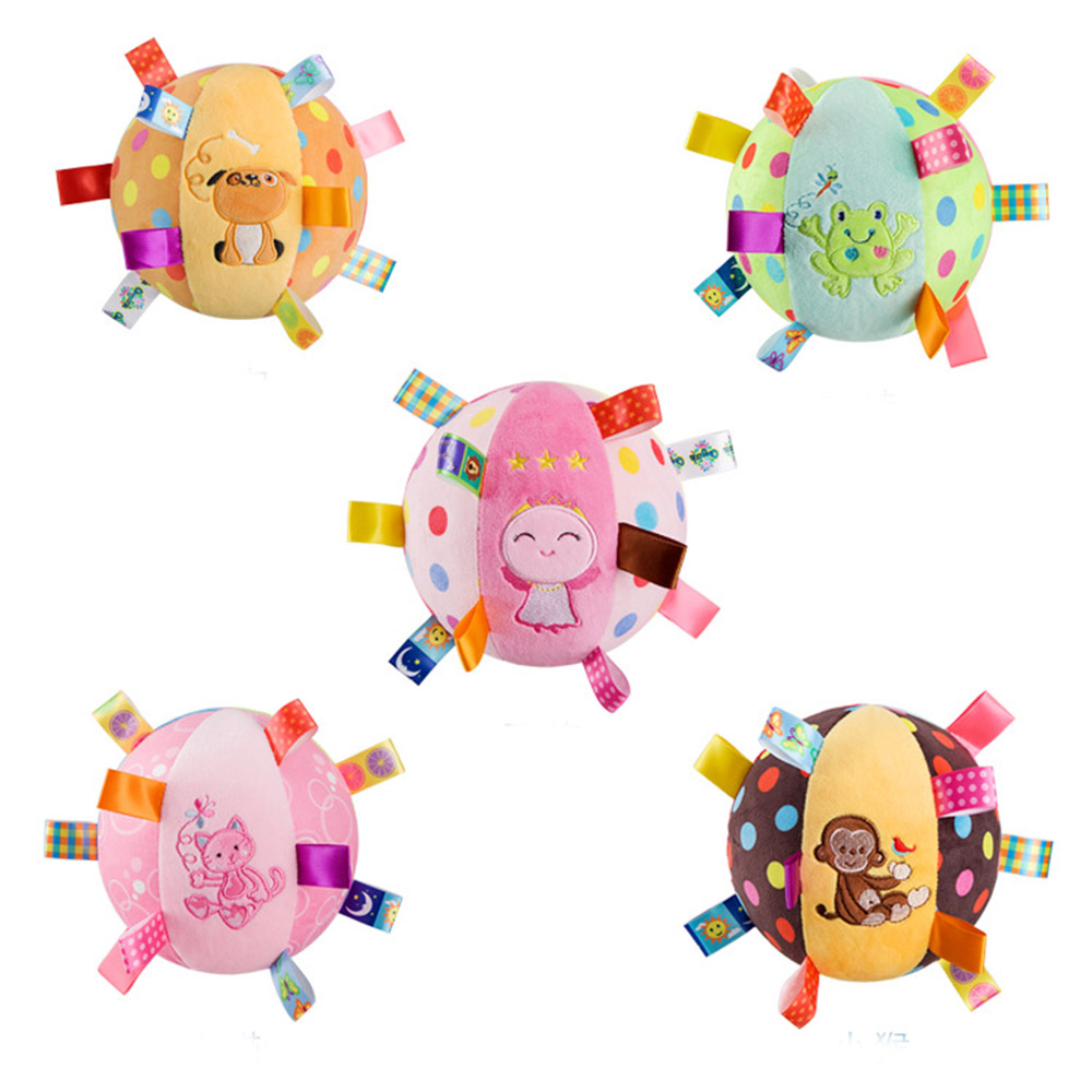 Soft&Cute Plush Toys For Baby Early Education&Puzzle  Toy Pinata Mtessori Puzzle Toy Animal Ball Plush Toy For Baby Shower Gifts детское лего no education toy