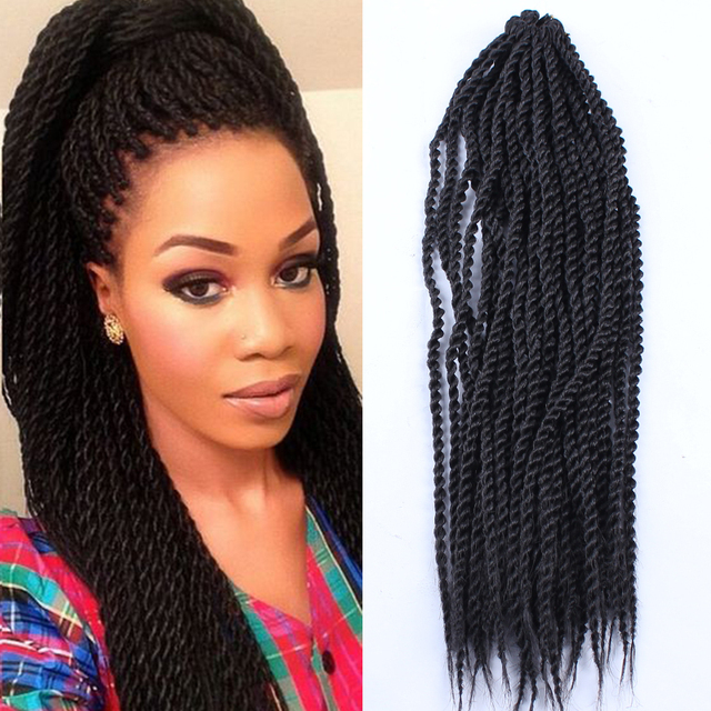 Box Braids Hair Crochet 18 Crochet Hair Extensions