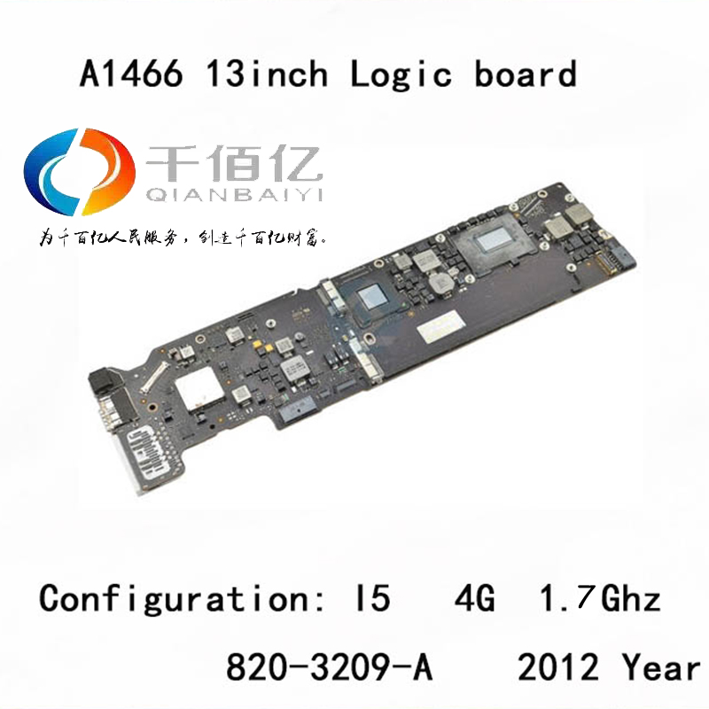 Used-with-100-working-Logic-board-for-Macbook-Air-A1466-mother-board-13-I5-4G-2